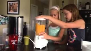 How To Make A Orange Slushy