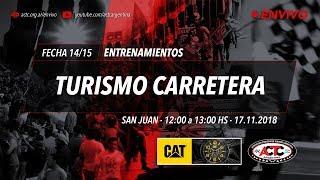 14-2018) San Juan: Sábado Entrenamientos TC