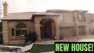 TOUR OF MY NEW HOUSE!