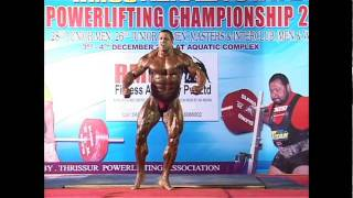 BODYBUILDING SHOW @ Thrissur Egyptian Bodybuilder Ahmed Hamouda