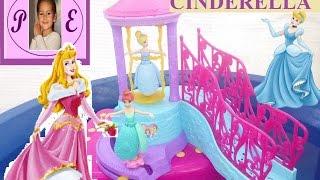 Принцессы Дисней Золушка и Ариэль.Водный замок Дисней