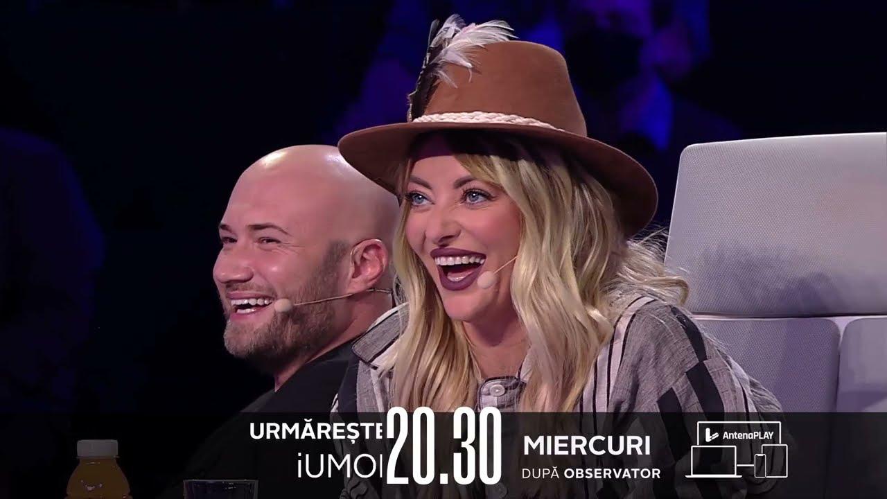 Gina Felea le oferă un loc de muncă juraților iUmor?? Aflați miercuri, de la 20.30 la Antena 1!