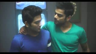 Unmukt Chand in Pepsi add with Seniors