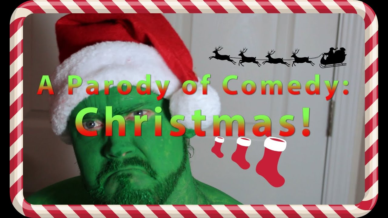 A Parody of Comedy: Famous Christmas Movie Quotes (2014) - YouTube