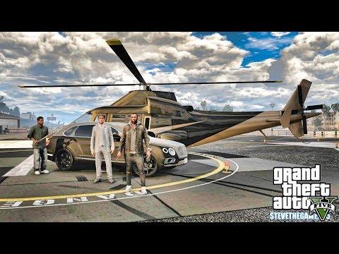 GTA 5 REAL LIFE CJ MOD #134 - HELICOPTER TAXI!!!(GTA 5 REAL LIFE MODS) thumbnail