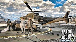 GTA 5 REAL LIFE CJ MOD #134 - HELICOPTER TAXI!!!(GTA 5 REAL LIFE MODS)