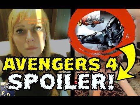 AVENGERS 4 SPOILER! ¿PEPPER POTTS CON ARMADURA DE IRON MAN? - Gwyneth Paltrow