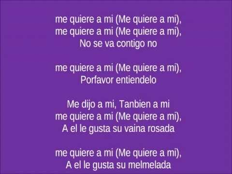 Heidy brown ft melymel (me quiere a mi) Letra-Lyrics