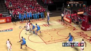 Best 2K Comeback  NBA Conference Finals (OKC vs. SAS)