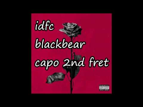 idfc blackbear lyrics and chords