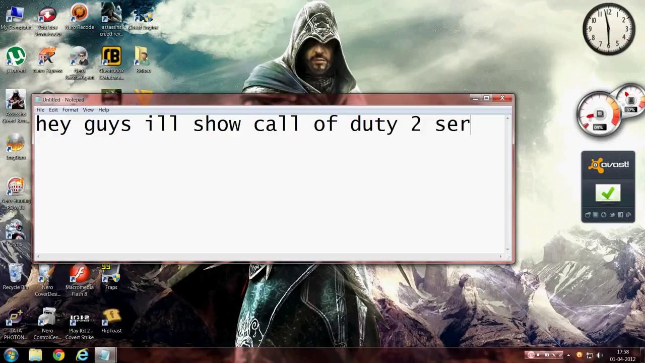 call of duty 2 key code generator free download