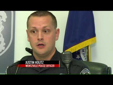 Man meets Wentzville officers who saved his life following heart attack