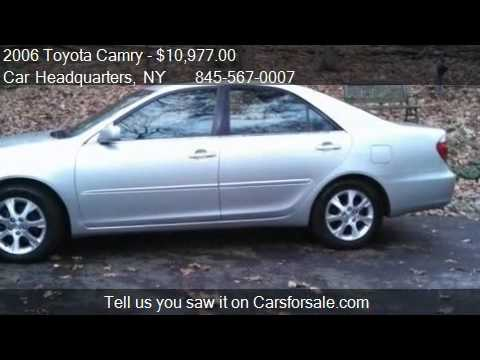 2006 toyota camry xle v6 for sale in new windsor ny 12553 youtube. Black Bedroom Furniture Sets. Home Design Ideas