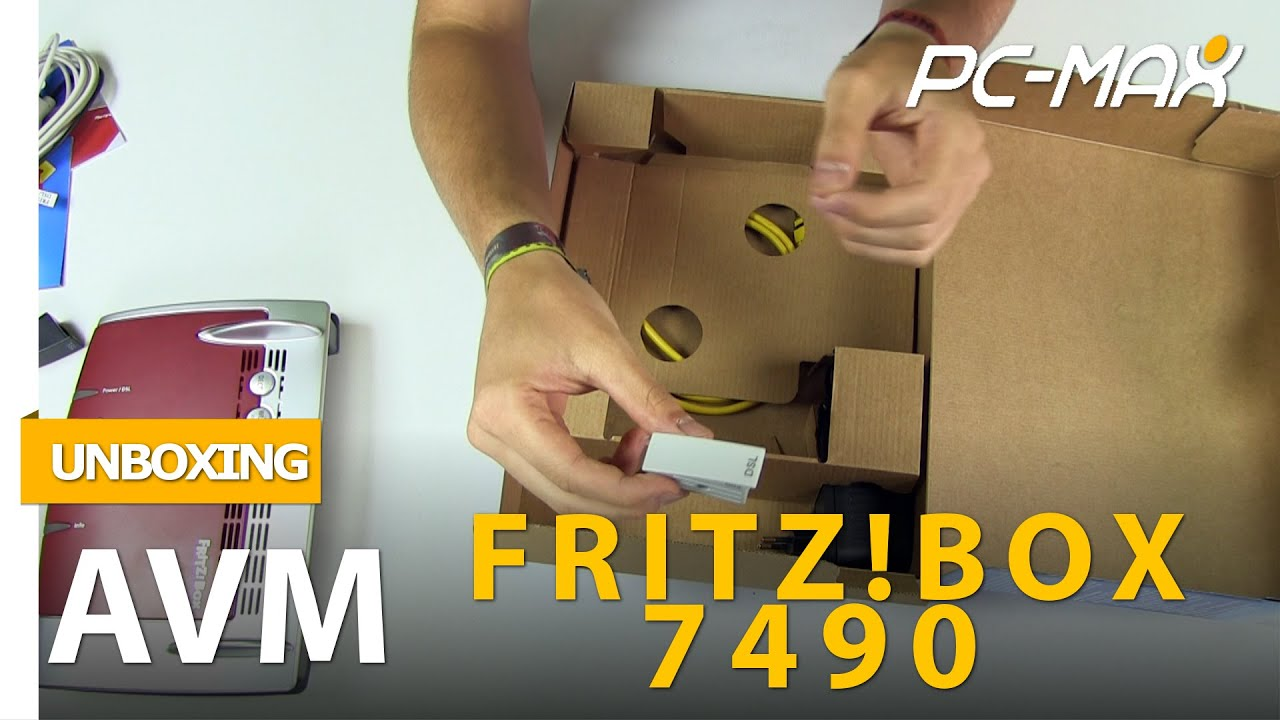 unboxing hands on avm fritz box 7490 youtube. Black Bedroom Furniture Sets. Home Design Ideas