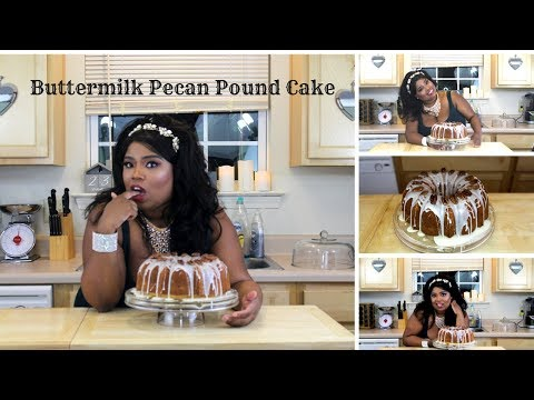 How to make a Buttermilk Pecan Pound Cake