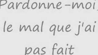 Pardonne-moi ( Grégory Lemarchal )