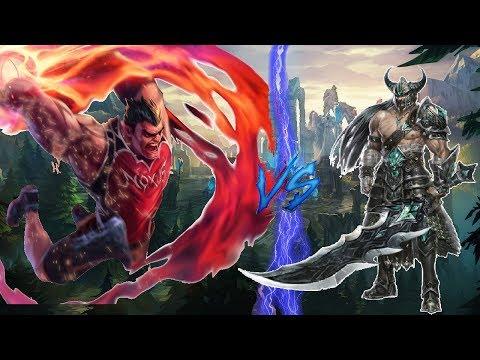 The DunkBack - Darius VS Tryndamere - League of Legends Stream Game