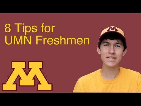 8 Tips for University of Minnesota Freshmen
