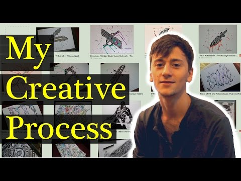 How To Come Up With Artwork Ideas And Original Art [My Creative Process]