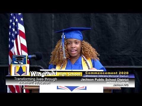 2020 Wingfield High School Graduation