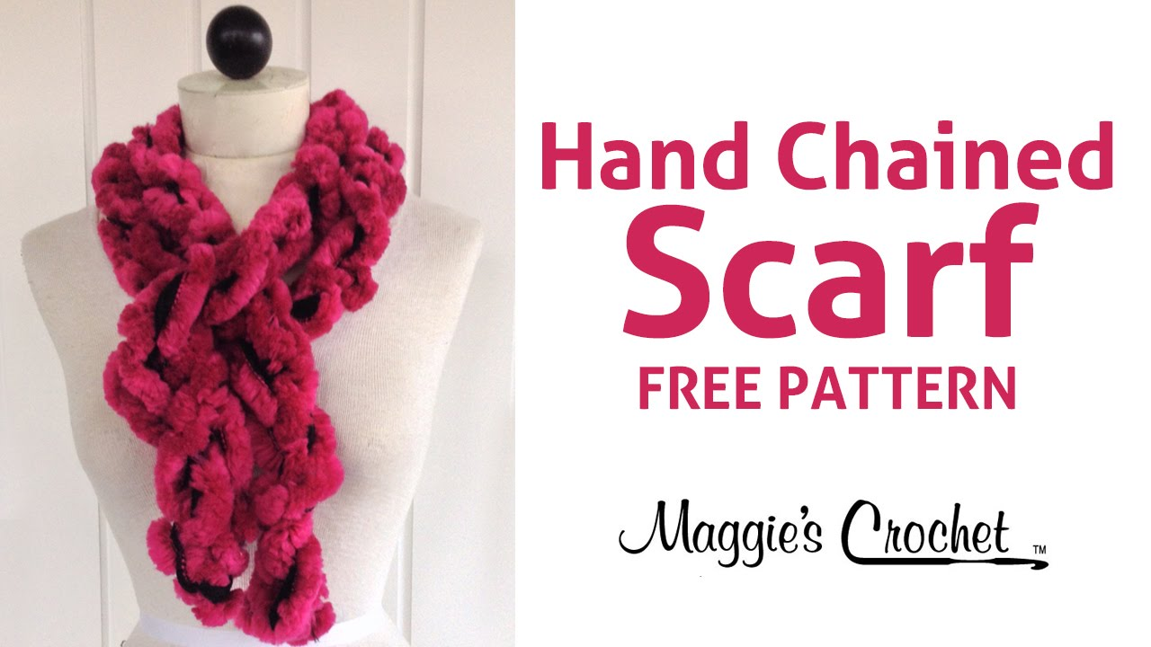 3 minute starbella arctic hand chained ruffled scarf right handed 3 minute starbella arctic hand chained ruffled scarf right handed maggies crochet dt1010fo