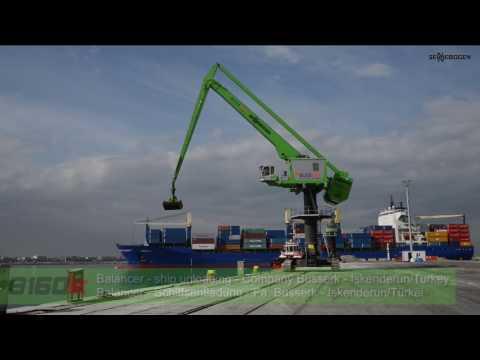 SENNEBOGEN 8160 EQ - Balancer Ship Unloading - Company Busserk - Iskenderun/Turkey