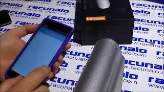 Lenovo 500 2.0 BT Speaker - video test (10.03.2015)