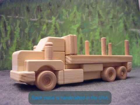 Wooden Trucks - Wood toys and gifts from woodtoyZ.com ...