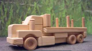 Wooden Trucks - Wood Toys And Gifts From Woodtoyz.com