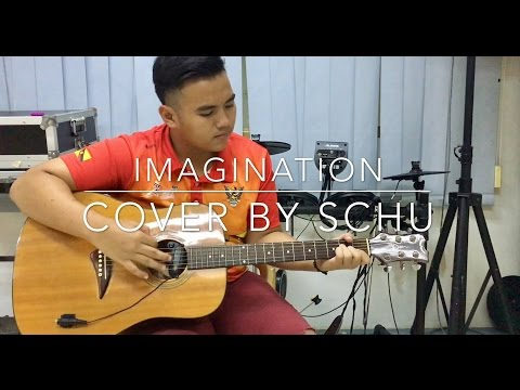 IMAGINATION by Shawn Mendes || COVER  BY SCHU (with lyrics acoustic version)