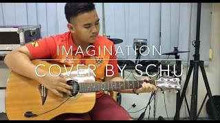 IMAGINATION by Shawn Mendes COVER BY SCHU with lyrics acoustic version