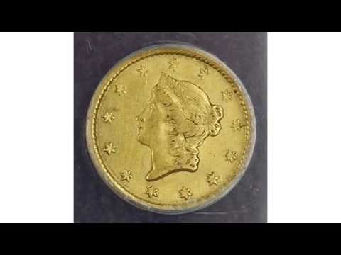 History Of The United States One Dollar Gold Coin