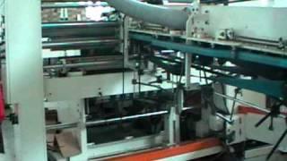 Линия TCY для производства гофрокороба целиком(Технология производства коробки с печатью на высокой скорости., 2011-04-29T06:39:58.000Z)