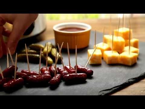 How To Make Slow Cooker Cocktail Smokies | Appetizer Recipes | Allrecipes.com