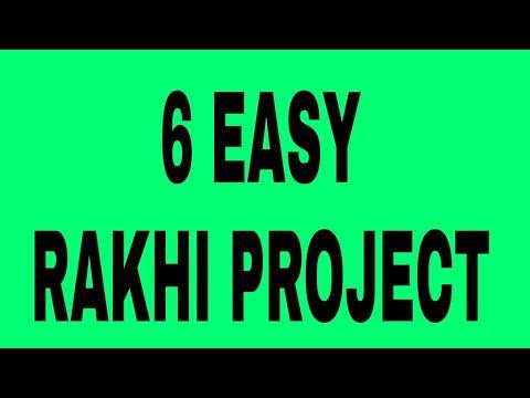 6 UNIQUE 🎀 RAKHI MAKING at Home   #DIY 6 Types of Rakhi Under 50 Rs.