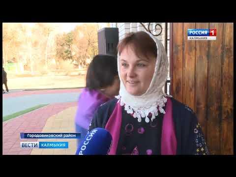 В Городовиковске торжественно открыли новый православный храм