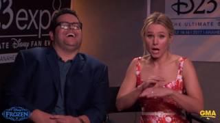 Kristen Bell & Josh Gad Say Frozen Directors Blast The AC When Recording