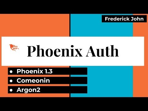 Phoenix 1.3 Authentication - Deep Dive