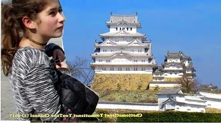 Japan Travel - Trip to Himeji Castle (姫路城) and Zoo - Bilingual English Japanese (バイリンガル英語日本語)