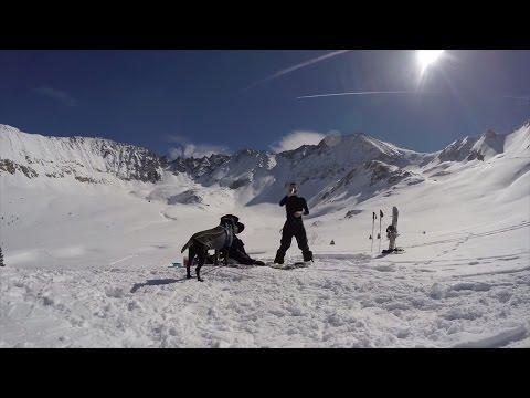 Backcountry Snowboarding - Mayflower Gulch Colorado