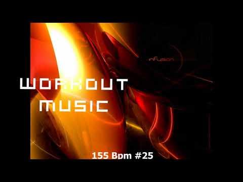Workout music fitness 155 bpm, Cardio box, Step, Dec 2017 #25