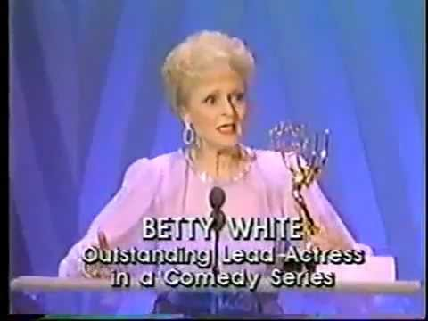 Betty White @ The Emmy Awards 1986