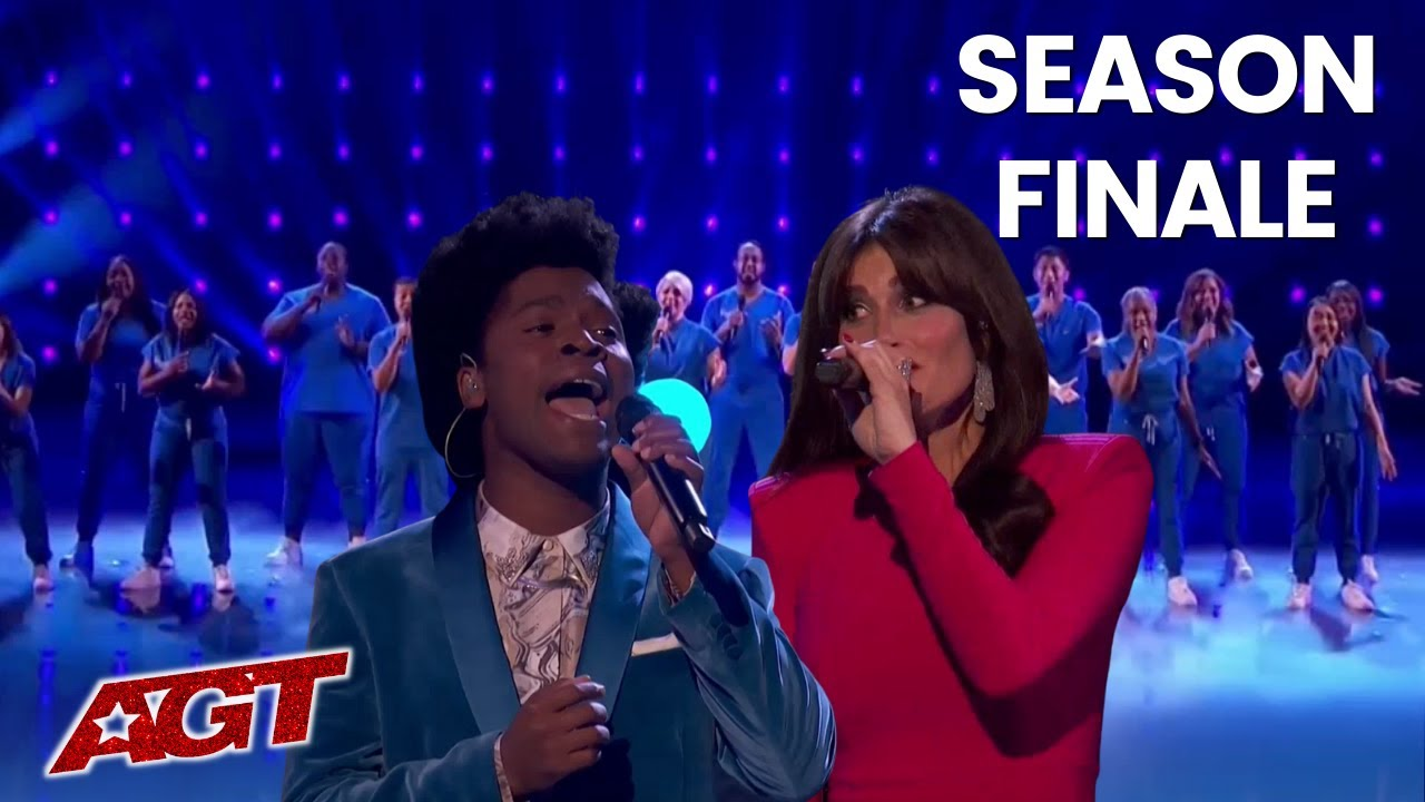 Download Idina Menzel Sings With Jimmy Herrod and Northwell Nurse Choir on AGT Season FINALE!