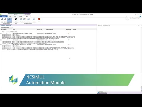Automation for Simulation and Optimization | Features | NCSIMUL Machine
