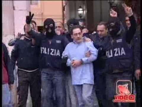 Caserta - L'arresto del boss Mario Caterino