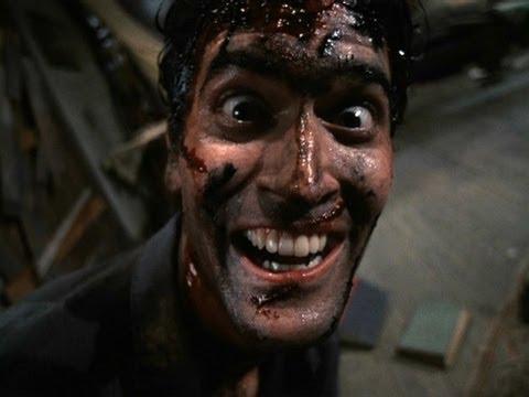 Evil Dead 2 - Ash goes crazy (Laughing Scene)