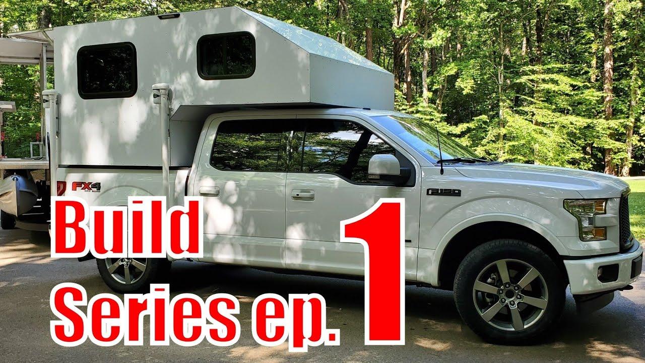 TRUCK CAMPER BUILD SERIES ep 1 (Homemade Truck Bed Camper )