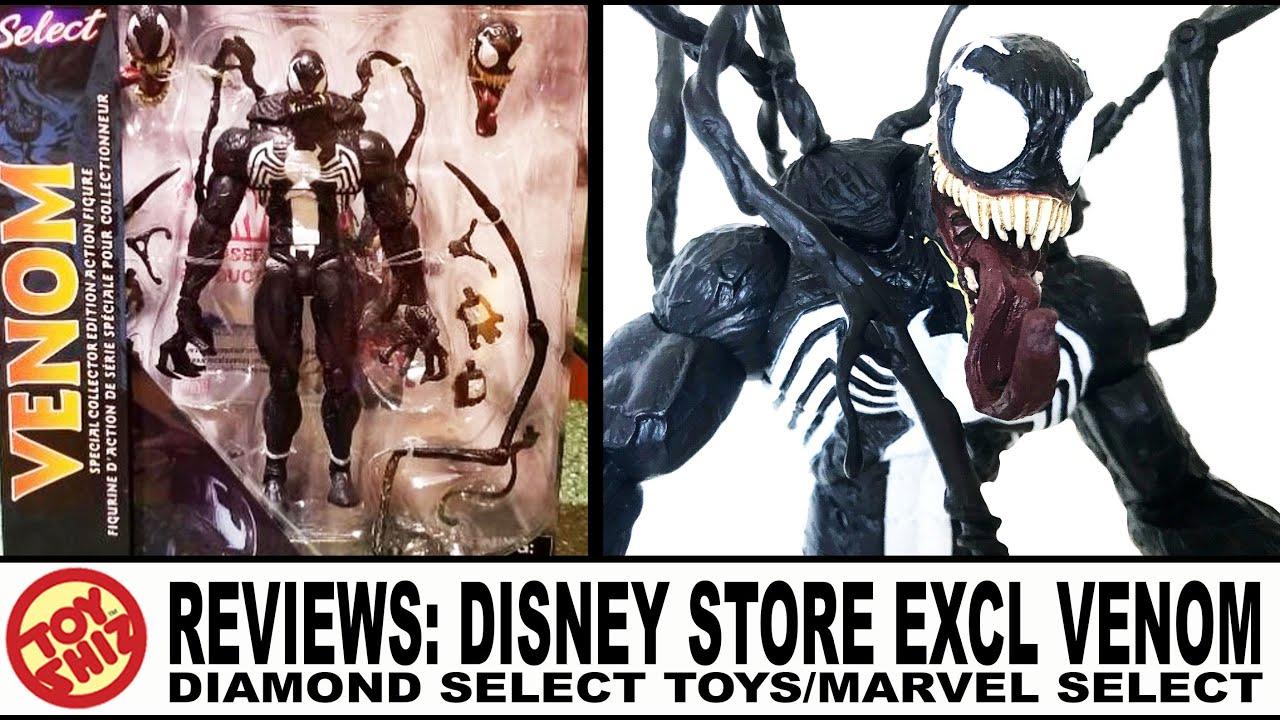 Toy Shiz Reviews Marvel Select Venom Disney Store Holiday Exclusive