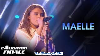 The Voice France : Maëlle ~ Wicked Games [Audio] ♫ 💕