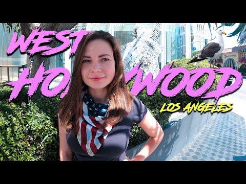 Отдых в Лос-Анджелес, Вест Голливуд. Русский район. Los Angeles, California